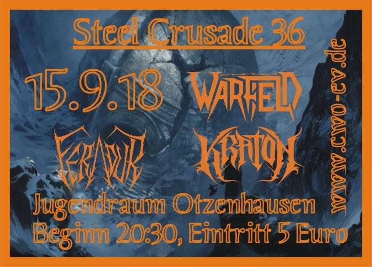 Die Celtic Warriors Otzenhausen präsentieren: Steel Crusade 36