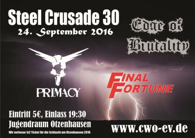 Die Celtic Warriors Otzenhausen präsentieren: Steel Crusade 30