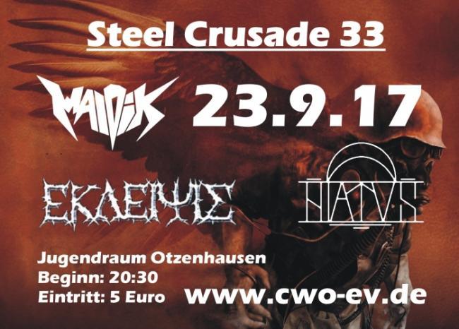 Die Celtic Warriors Otzenhausen präsentieren: Steel Crusade 33