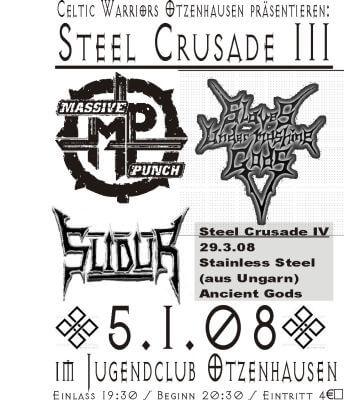 Die Celtic Warriors Otzenhausen präsentieren: Steel Crusade 3