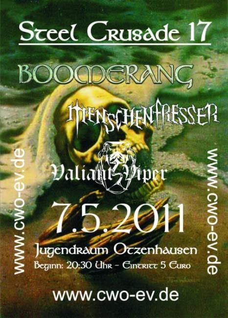 Die Celtic Warriors Otzenhausen präsentieren: Steel Crusade 17