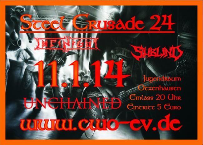 Die Celtic Warriors Otzenhausen präsentieren: Steel Crusade 24