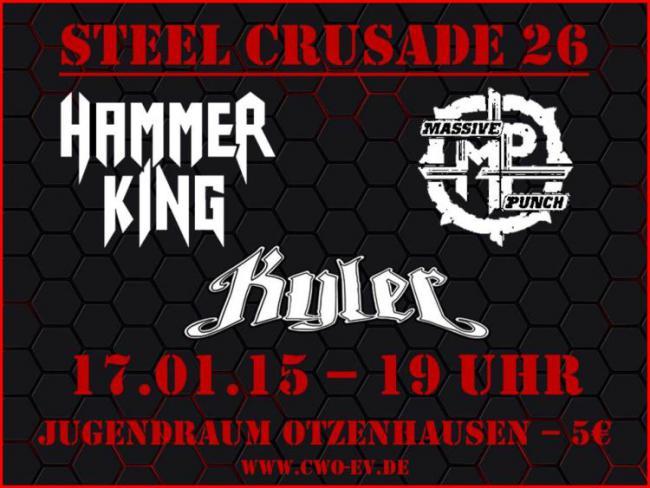 Die Celtic Warriors Otzenhausen präsentieren: Steel Crusade 26