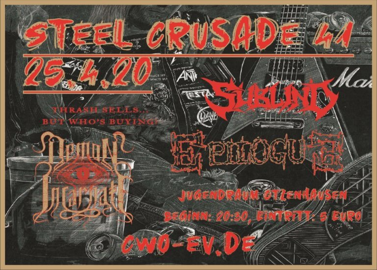 Die Celtic Warriors Otzenhausen präsentieren: Steel Crusade 41